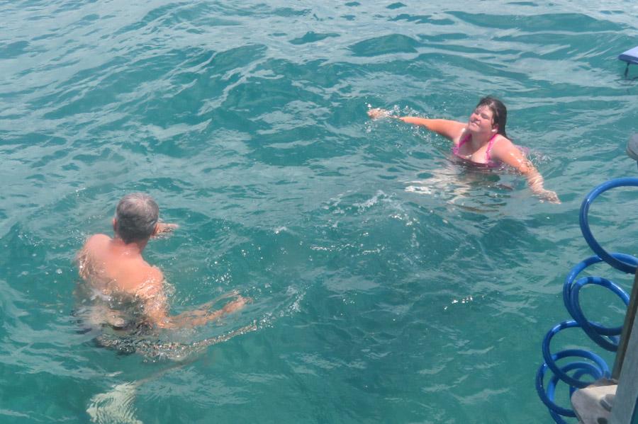 Snorkelen Key Largo -Even testen zonder snorkelmasker