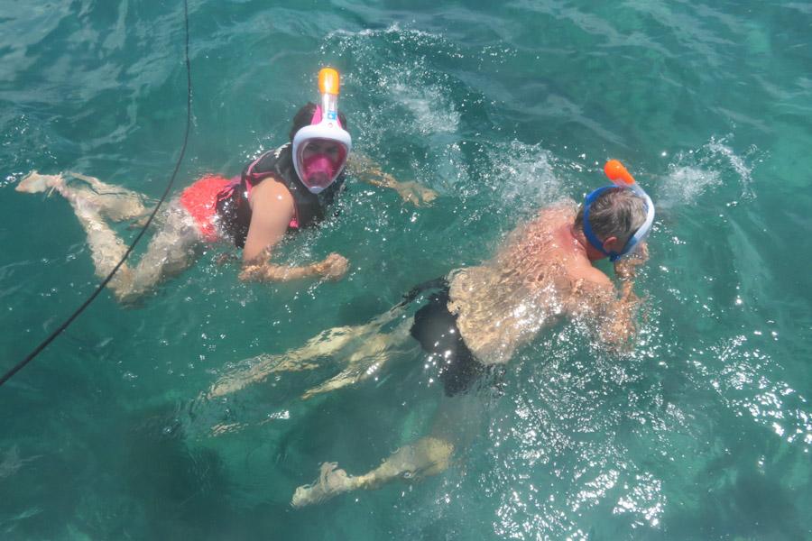 Snorkelen Key Largo - Laura en Edwin