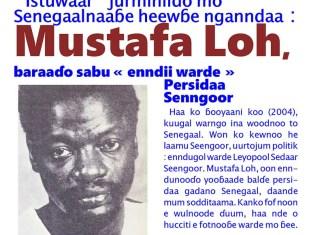 Mustafa Loh enndunooɗo warde Senngoor