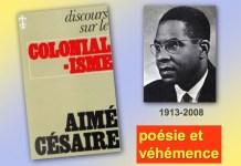 Aimé Césair discours sur le colonialisme