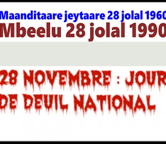 28 novembre ñalawma sunaare