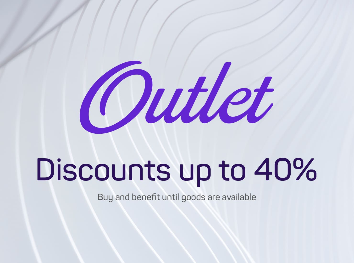 Discounts up to 40%