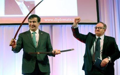 CPF has granted Mikheil Saakashvili the Knight of Freedom Award