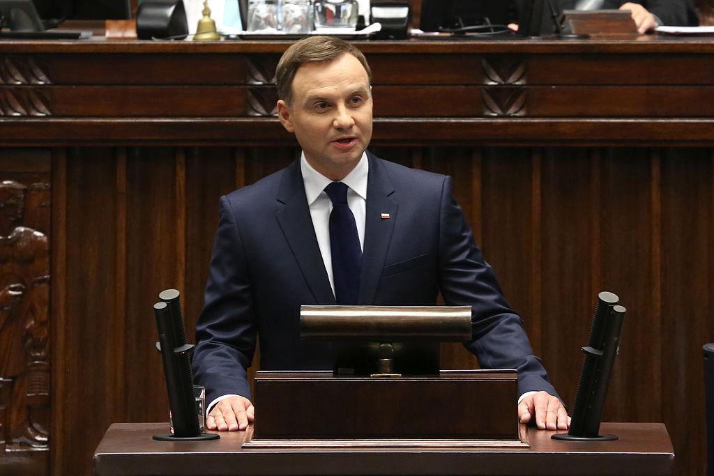 Łukasz Polinceusz wTOK FM owizycie Prezydenta Dudy wUSA orazwystąpieniu naforum ONZ