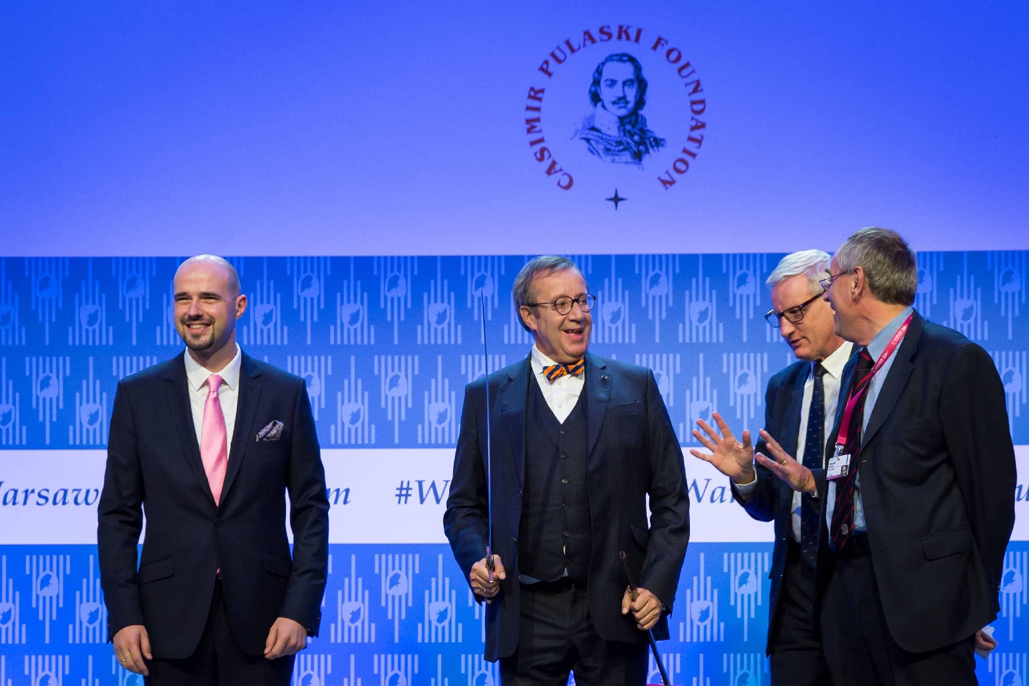 Knight of Freedom Award for Toomas Hendrik Ilves