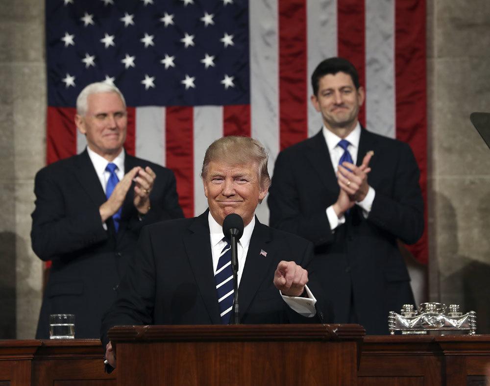 Tomasz Smura oplanowanym orędziu prezydenta Donalda Trumpa.
