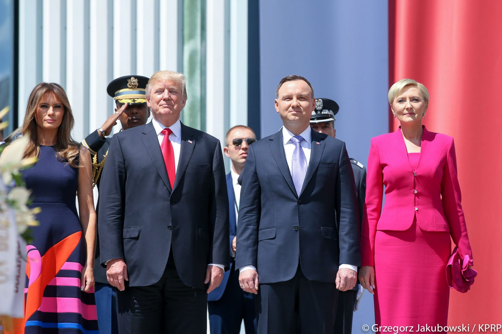 KOMENTARZ: Trump Visit a Win for Polish Government