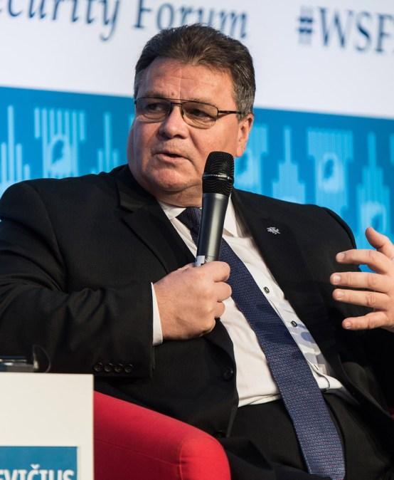 POLSKIE RADIO | WSF2017: Minister Spraw Zagranicznych Litwy Linas Linkevičius – wpustkę przywództwa wdziera się populizm