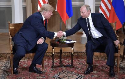 """""""Burza wWaszyngtonie"""" – polityczne konsekwencje spotkania wHelsinkach dla administracji Trumpa"""