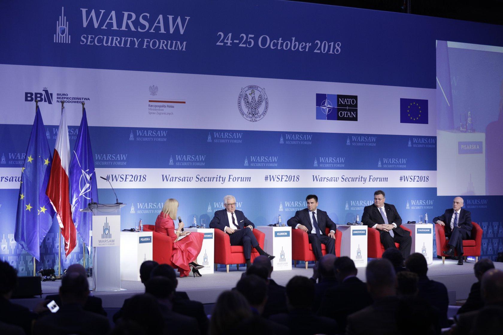 Warszawa stolicą bezpieczeństwa – zakończyło się Warsaw Security Forum