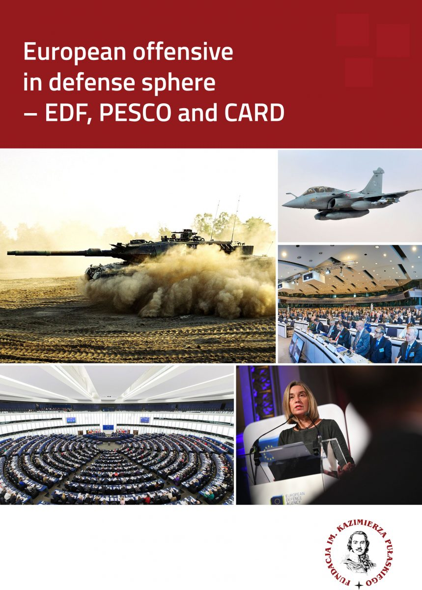 REPORT: European offensive in defense sphere – EDF, PESCO and CARD