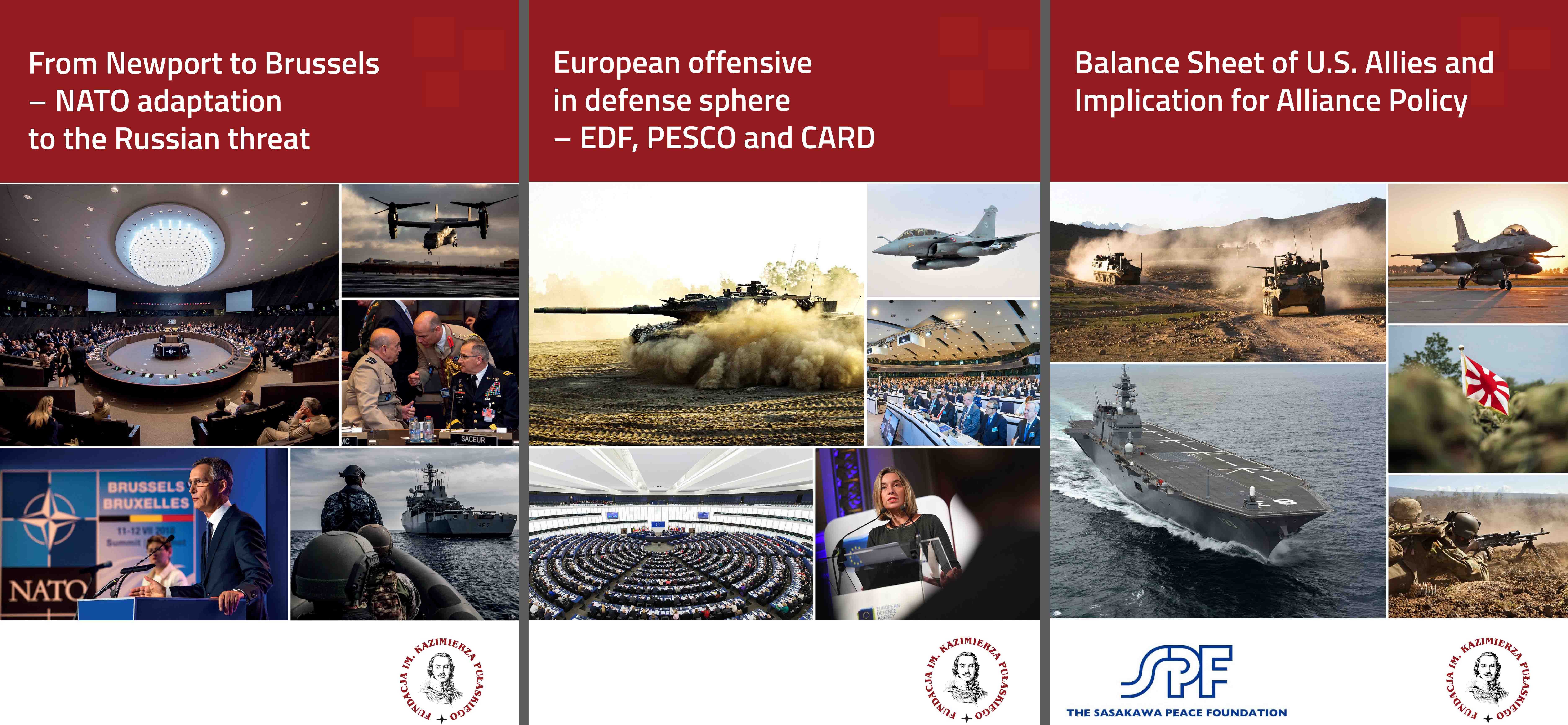 European defense programs, NATO adaptation to the Russian threat and balance sheet of U.S. Allies – new reports presented at Warsaw Security Forum 2018