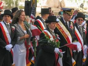 Parade officials