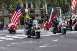 Polish and American national flags