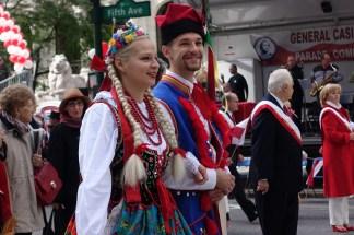 October 4, 2015: Folk dancers