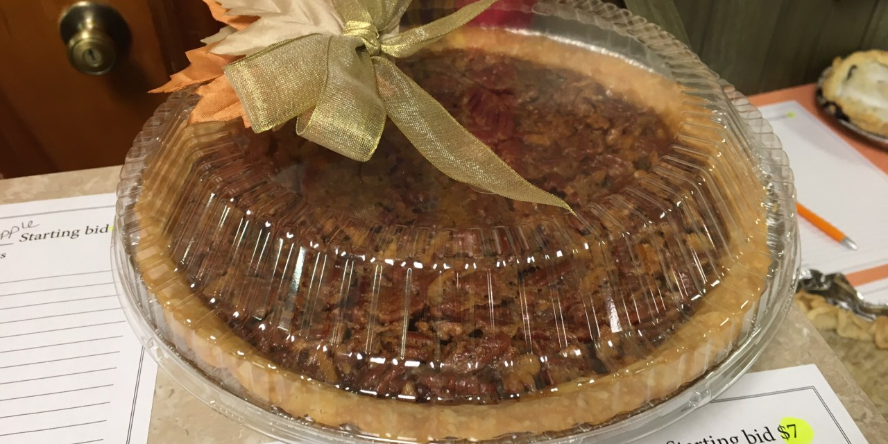 Recent Pie Sale Fundraiser