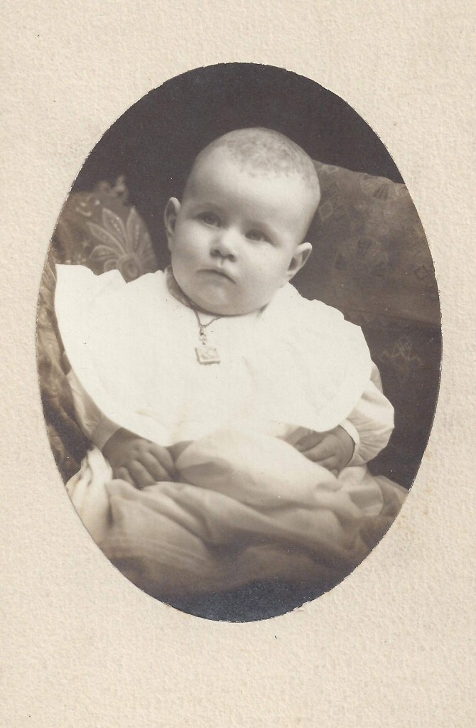 Baby photo of who? Help identify this picture from Maggie Gajewski.