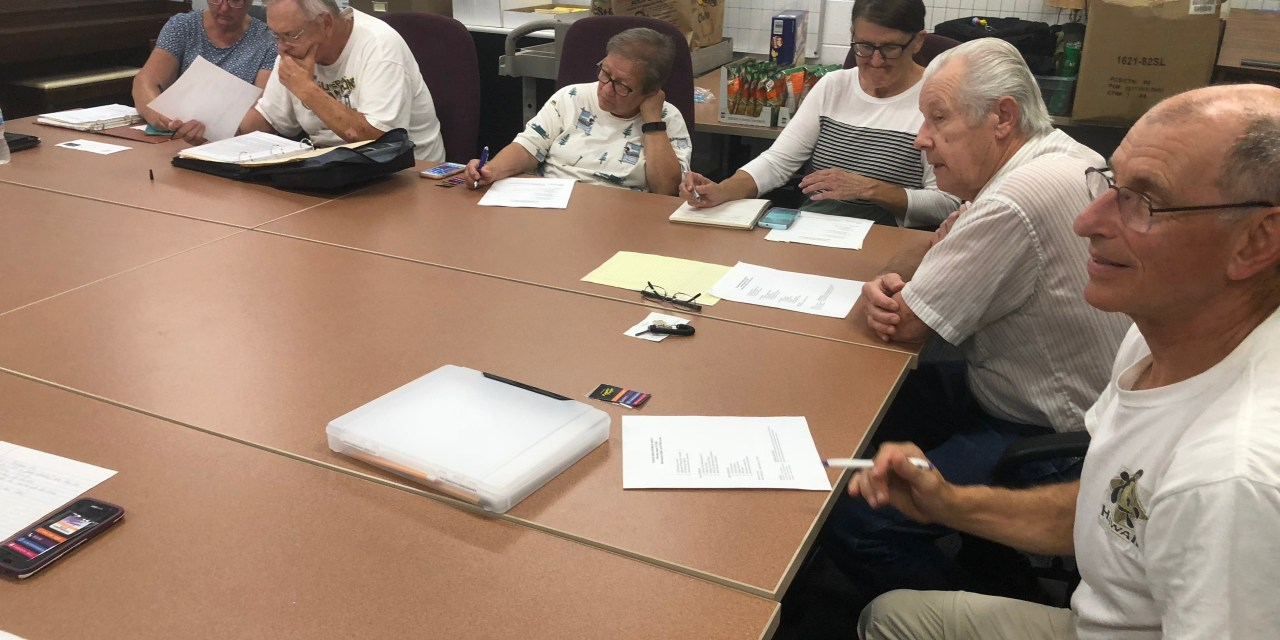 P.A.H.S. Meeting of September 24, 2018