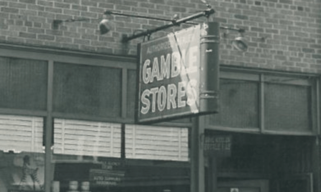 Photos of Gajewski's Gamble Store 1934