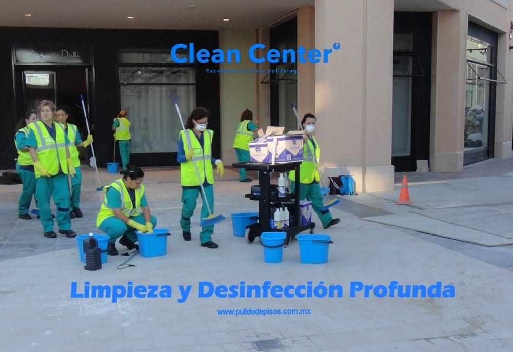 limpieza fina y profunda