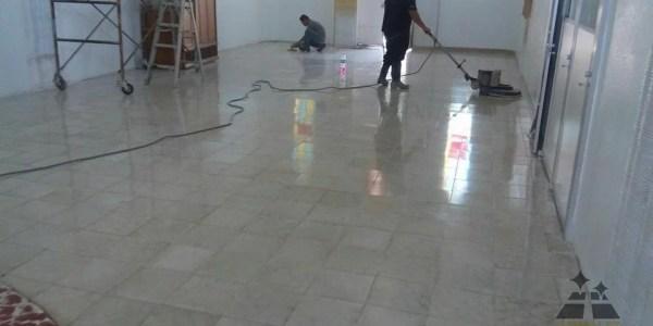 pulido y abrillantado de pisos