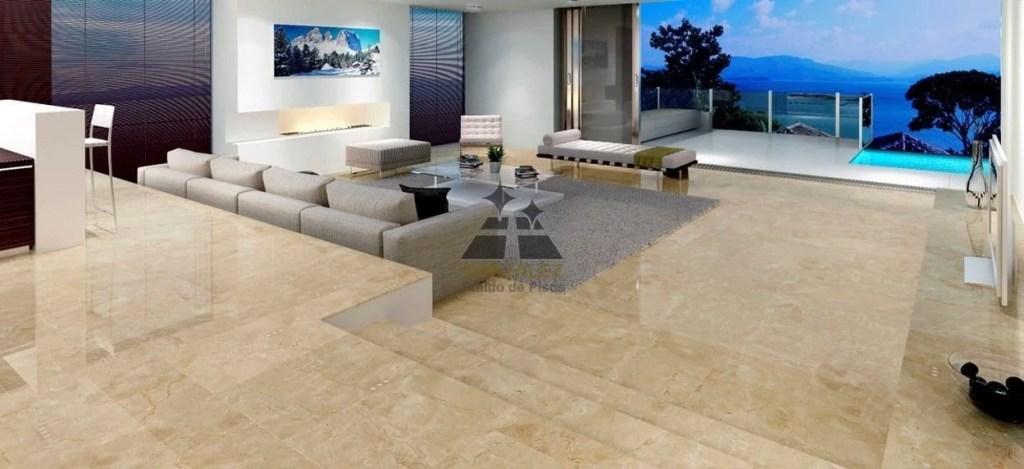 ideas de decoracion con pisos de marmol
