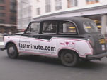 London's Lastminute.com Cab