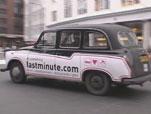 London's Lastminute.com Cab