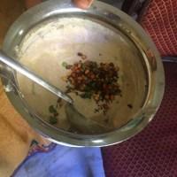 Daangar - Raitha made with urad dhal flour