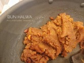 One of the recipes I demonstrated - Bun Halwa from the Saurashtra community in Kanchipuram