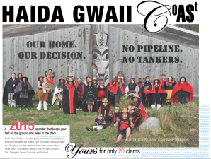 Haida Gwaii group CoAST Raises $2,000 with Gorgeous Calendars!
