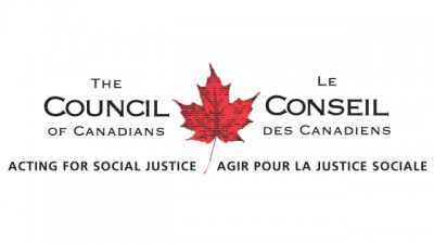 Council of Canadians chapters raise over $2000