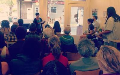 Victoria: Full House at Fairfield Literary Event