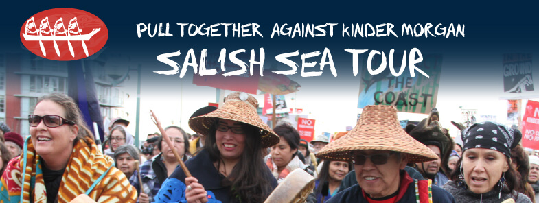 Salish Sea Tour rocks the islands to stop Kinder Morgan