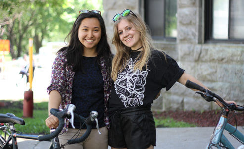 Alison Gu and Sarah Mitchell McGill students fundraise for anti-Kinder Morgan pipeline