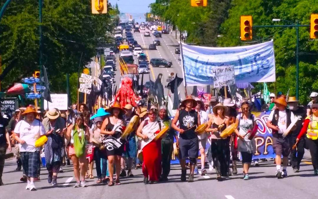Peace Arch Walk & Rally for our Salish Sea