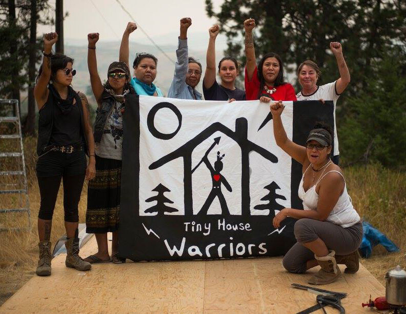 Indigenous Activists Are Building Tiny Houses To Protest B.C. Trans Mountain Pipeline