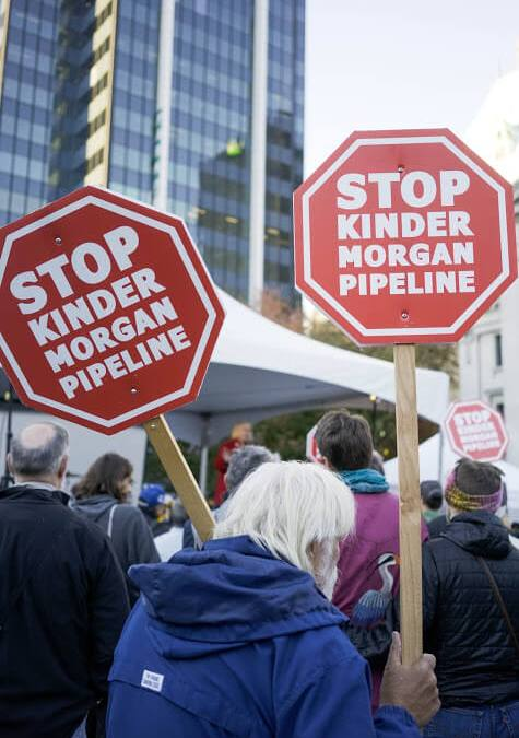 Saw you in court: The Kinder Morgan Federal Court of Appeal hearing (explained in road signs)