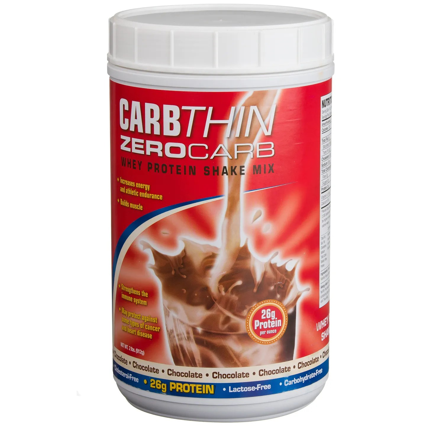CarbThin Zero Carb Whey Protein Shake Mix