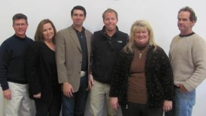(As pictured from left to right: Casey Rooney, Barbara Predmore, Robert Carlson III, James Callahan, Peggy Fiandaca, and Kent Callaghan. Cory Whalin not pictured.)