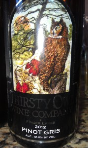 Thirsty Owl Wine Company Pinot Gris