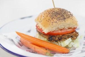 Petite Veggie burger