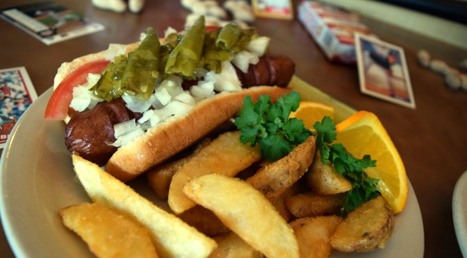 Chompie's offers baseball fans buy one, get one free burgers and hot dogs