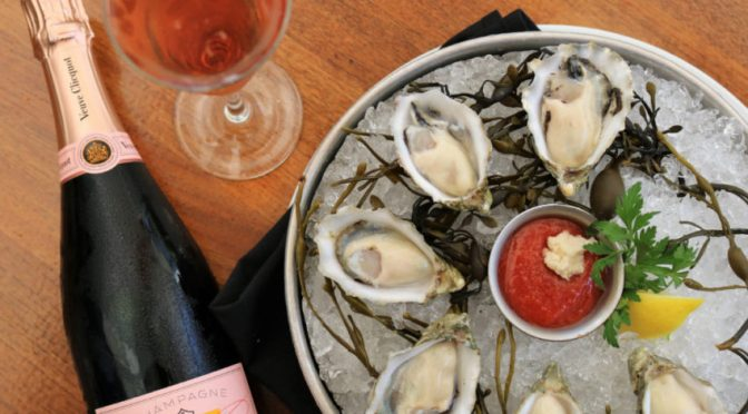Ocean Prime offers 1/2 off Veuve Clicquot Rosé every Friday