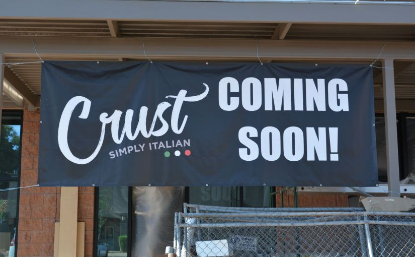Crust re-locating around the corner in McCormick Ranch