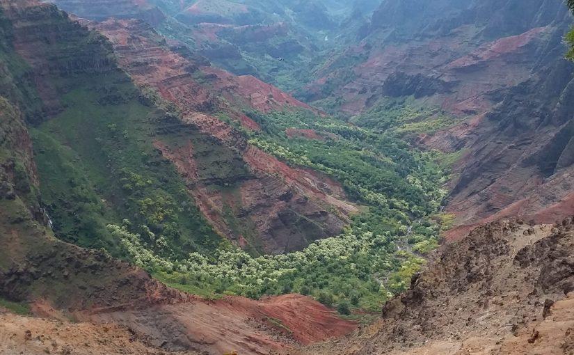 Waimea Canyon then back to the east end of Kauai