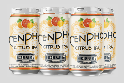 Huss Brewing's CenPho Citrus IPA brewed with locally donated fruit