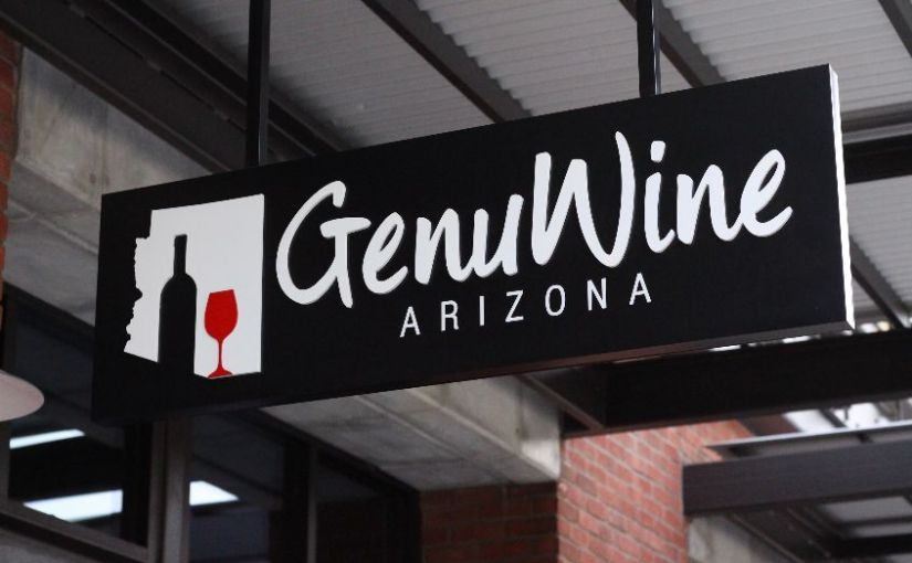 A visit to GenuWine Arizona, a self serve wine bar.