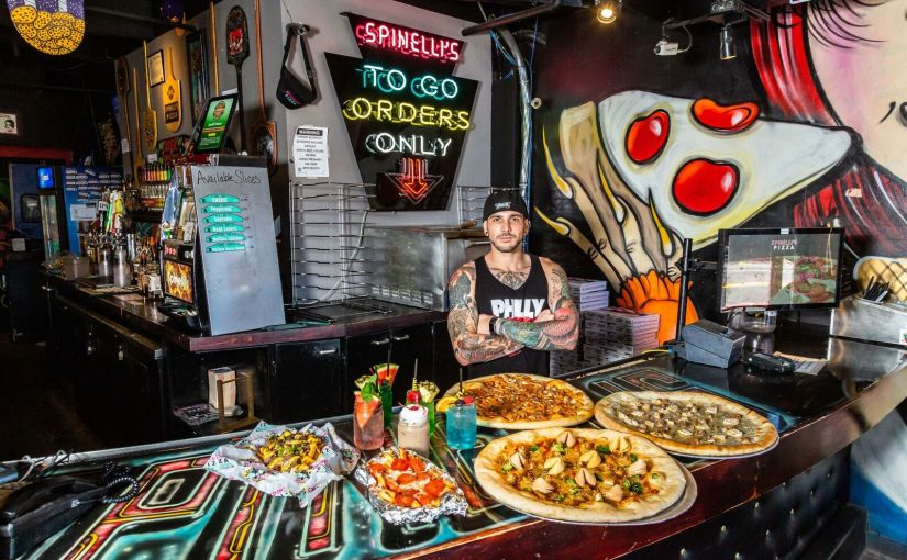 $1 pizza slices at Spinelli's Pizzeria for first 500 people