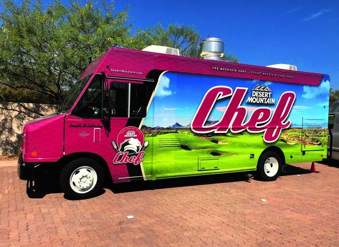 "Desert Mountain Club's ""The Mountain Chef"" food truck hits the road."